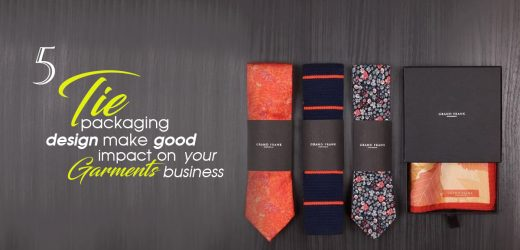 5 Tie Packaging Design make Good Impact on your Garments Business