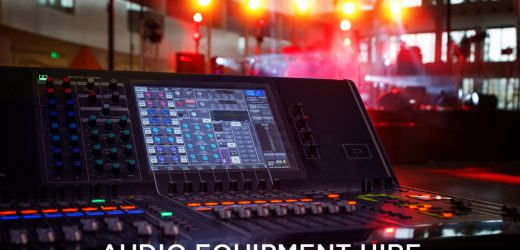 Check Audio Equipment Hire Before Event