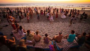 celebrate the new year in Goa