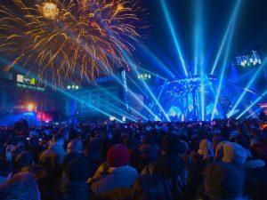 celebrate the new year in Delhi