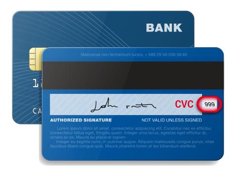 Debit card security number