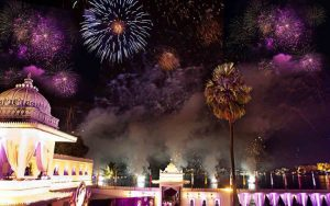 celebrate the new year in Udaipur