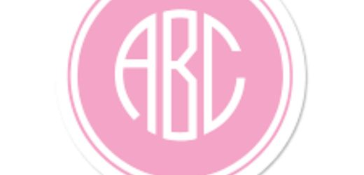 Creative Ideas of Using Monogram Stickers