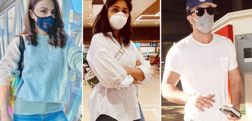 Bollywood Celebrities Appeal Fans to Stop Panicking and Staying Safe