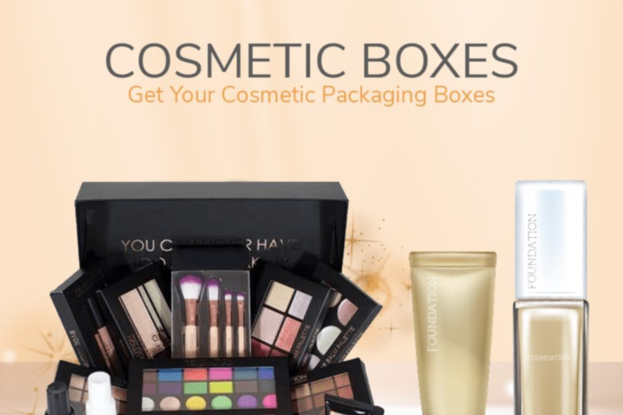 cosmetic boxed