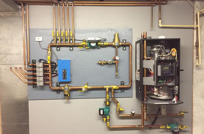 boiler installation in Manhattan