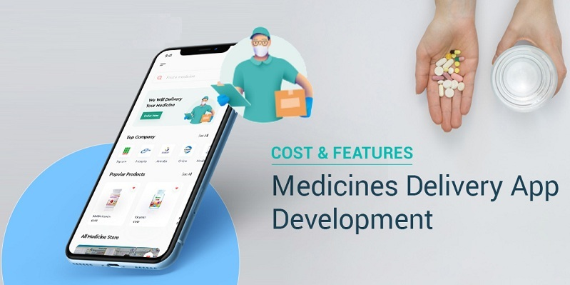 Everything from Cost to Features of Developing a Medicine Delivery App